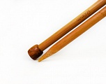 12 mm (US 17) A set of 2 bamboo knitting needles. Length: 35 cm (14&amp). Size: 12 mm (US 17) Brand SKC, acs-182
