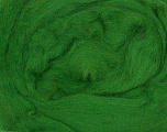 50gr-1.8m (1.76oz-1.97yards) 100% Wool felt Fiber Content 100% Wool, Yarn Thickness Other, Brand ICE, Grass Green, acs-937