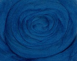 50gr-1.8m (1.76oz-1.97yards) 100% Wool felt Fiber Content 100% Wool, Yarn Thickness Other, Brand ICE, Blue, acs-947
