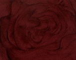 50gr-1.8m (1.76oz-1.97yards) 100% Wool felt Fiber Content 100% Wool, Yarn Thickness Other, Brand ICE, Burgundy, acs-952