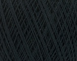Fiber indhold 67% Bomuld, 33% Polyester, Brand Ice Yarns, Anthracite Black, Yarn Thickness 1 SuperFine  Sock, Fingering, Baby, fnt2-49560