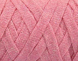 Fiber indhold 70% Recycled Cotton, 30% Metallisk Lurex, Light Pink, Brand Ice Yarns, Yarn Thickness 6 SuperBulky  Bulky, Roving, fnt2-50525