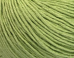 Fiber Content 60% Bamboo, 40% Cotton, Light Green, Brand ICE, Yarn Thickness 3 Light  DK, Light, Worsted, fnt2-50543