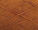 Fiber indhold 100% Bomuld, Light Brown, Brand Ice Yarns, Yarn Thickness 2 Fine  Sport, Baby, fnt2-50692