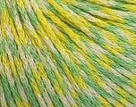 Fiber indhold 100% Akryl, Yellow, White, Brand Ice Yarns, Green, Yarn Thickness 3 Light  DK, Light, Worsted, fnt2-50797