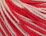Fiber indhold 100% Akryl, White, Brand Ice Yarns, Candy Pink, Yarn Thickness 3 Light  DK, Light, Worsted, fnt2-50814