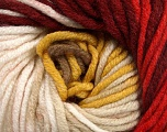 Fiber Content 100% Acrylic, Yellow, White, Red, Brand ICE, Camel, Burgundy, Yarn Thickness 5 Bulky  Chunky, Craft, Rug, fnt2-50844