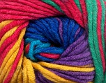 Fiber indhold 100% Akryl, Yellow, Turquoise, Pink, Navy, Lavender, Brand Ice Yarns, Green, fnt2-50848