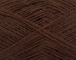 Fiber Content 50% Wool, 50% Acrylic, Brand ICE, Brown, Yarn Thickness 2 Fine  Sport, Baby, fnt2-50900