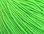 Fiber Content 60% Cotton, 40% Acrylic, Light Green, Brand ICE, Yarn Thickness 2 Fine  Sport, Baby, fnt2-51227