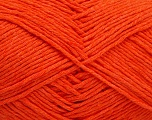 Please note that the yarn weight and the ball length may vary from one color to another for this yarn. Fiber Content 100% Cotton, Orange, Brand ICE, Yarn Thickness 3 Light  DK, Light, Worsted, fnt2-51415