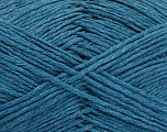 Please note that the yarn weight and the ball length may vary from one color to another for this yarn. Fiber Content 100% Cotton, Teal, Brand ICE, Yarn Thickness 3 Light  DK, Light, Worsted, fnt2-51417