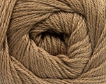Fiber Content 45% Alpaca, 30% Polyamide, 25% Wool, Light Brown, Brand ICE, Yarn Thickness 2 Fine  Sport, Baby, fnt2-51590