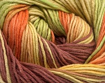 Fiber Content 100% Cotton, Yellow, Rose Brown, Orange, Brand ICE, Green, Yarn Thickness 2 Fine  Sport, Baby, fnt2-51639