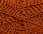 Fiber Content 100% Acrylic, Brand ICE, Copper, Yarn Thickness 3 Light  DK, Light, Worsted, fnt2-52075