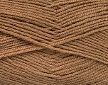 Fiber Content 100% Acrylic, Brand ICE, Camel, Yarn Thickness 3 Light  DK, Light, Worsted, fnt2-52076