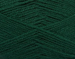 Fiber Content 100% Acrylic, Brand ICE, Dark Green, Yarn Thickness 3 Light  DK, Light, Worsted, fnt2-52079