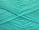 Fiber Content 100% Acrylic, Light Turquoise, Brand Ice Yarns, Yarn Thickness 3 Light  DK, Light, Worsted, fnt2-52083