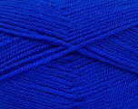 Fiber Content 100% Acrylic, Brand ICE, Bright Blue, Yarn Thickness 3 Light  DK, Light, Worsted, fnt2-52086