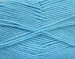 Fiber Content 100% Acrylic, Light Blue, Brand Ice Yarns, Yarn Thickness 3 Light  DK, Light, Worsted, fnt2-52087