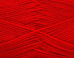 Fiber Content 100% Acrylic, Brand ICE, Dark Red, Yarn Thickness 3 Light  DK, Light, Worsted, fnt2-52091