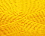 Fiber Content 100% Acrylic, Yellow, Brand Ice Yarns, Yarn Thickness 3 Light  DK, Light, Worsted, fnt2-52095