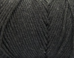 Items made with this yarn are machine washable & dryable. Fiber Content 100% Dralon Acrylic, Brand ICE, Anthracite Black, Yarn Thickness 4 Medium  Worsted, Afghan, Aran, fnt2-52949