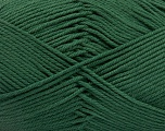 Baby cotton is a 100% premium giza cotton yarn exclusively made as a baby yarn. It is anti-bacterial and machine washable! Fiber Content 100% Giza Cotton, Brand ICE, Dark Green, Yarn Thickness 3 Light  DK, Light, Worsted, fnt2-53070