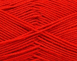Fiber Content 50% Bamboo, 50% Acrylic, Tomato Red, Brand ICE, Yarn Thickness 2 Fine  Sport, Baby, fnt2-53093