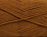 Fiber Content 100% Acrylic, Brand ICE, Brown, Yarn Thickness 3 Light  DK, Light, Worsted, fnt2-53168