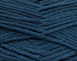 Fiber Content 100% Acrylic, Jeans Blue, Brand ICE, Yarn Thickness 5 Bulky  Chunky, Craft, Rug, fnt2-53188