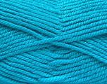 Fiber Content 100% Acrylic, Turquoise, Brand ICE, Yarn Thickness 5 Bulky  Chunky, Craft, Rug, fnt2-53192