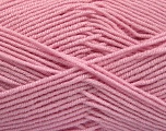 Fiber Content 50% Bamboo, 50% Acrylic, Brand ICE, Baby Pink, Yarn Thickness 2 Fine  Sport, Baby, fnt2-53332