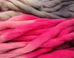 Fiber Content 100% Superwash Wool, Pink Shades, Lilac, Brand ICE, Burgundy, Beige, Yarn Thickness 6 SuperBulky  Bulky, Roving, fnt2-53574