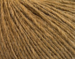 Fiber Content 50% Wool, 50% Acrylic, Light Brown, Brand ICE, Yarn Thickness 3 Light  DK, Light, Worsted, fnt2-53687