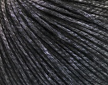 Fiber Content 60% Polyamide, 21% Acrylic, 19% Merino Wool, Silver, Brand ICE, Black, Yarn Thickness 3 Light  DK, Light, Worsted, fnt2-53750