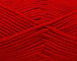Fiber Content 100% Acrylic, Red, Brand ICE, Yarn Thickness 5 Bulky  Chunky, Craft, Rug, fnt2-53765