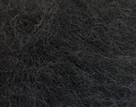 Knitted as 4 ply Fiber Content 40% Polyamide, 30% Acrylic, 30% Kid Mohair, Brand ICE, Black, Yarn Thickness 1 SuperFine  Sock, Fingering, Baby, fnt2-53974