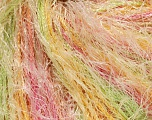 Fiber Content 100% Polyester, Yellow, Pink, Brand ICE, Green, Cream, Yarn Thickness 5 Bulky  Chunky, Craft, Rug, fnt2-54423