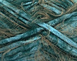 Fiber Content 70% Micro Fiber, 30% Polyamide, Turquoise, Brand ICE, Green, Camel, Yarn Thickness 5 Bulky  Chunky, Craft, Rug, fnt2-54447