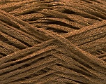 Fiber Content 82% Viscose, 18% Polyester, Light Brown, Brand ICE, Gold, Yarn Thickness 4 Medium  Worsted, Afghan, Aran, fnt2-54964