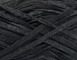 Fiber Content 82% Viscose, 18% Polyester, Brand ICE, Grey, Black, Yarn Thickness 5 Bulky  Chunky, Craft, Rug, fnt2-55001