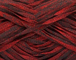 Fiber Content 82% Viscose, 18% Polyester, Red, Brand ICE, Black, Yarn Thickness 5 Bulky  Chunky, Craft, Rug, fnt2-55023