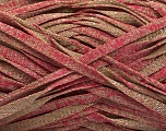 Fiber Content 82% Viscose, 18% Polyester, Pink, Brand ICE, Camel, Yarn Thickness 5 Bulky  Chunky, Craft, Rug, fnt2-55031
