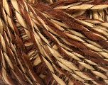Fiber Content 90% Acrylic, 10% Polyamide, Brand ICE, Brown Shades, Yarn Thickness 3 Light  DK, Light, Worsted, fnt2-55262