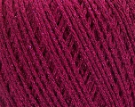 Fiber Content 50% Cotton, 30% Acrylic, 20% Metallic Lurex, Brand ICE, Fuchsia, Yarn Thickness 3 Light  DK, Light, Worsted, fnt2-55300