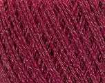 Fiber Content 50% Cotton, 30% Acrylic, 20% Metallic Lurex, Brand ICE, Gold, Fuchsia, Yarn Thickness 3 Light  DK, Light, Worsted, fnt2-55301