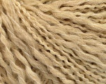Fiber Content 50% Wool, 40% Acrylic, 10% Polyamide, Brand ICE, Cafe Latte, Yarn Thickness 4 Medium  Worsted, Afghan, Aran, fnt2-55417