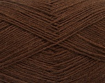 Fiber Content 75% Superwash Wool, 25% Polyamide, Brand ICE, Brown, Yarn Thickness 1 SuperFine  Sock, Fingering, Baby, fnt2-55467