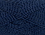 Fiber Content 75% Superwash Wool, 25% Polyamide, Navy, Brand ICE, Yarn Thickness 1 SuperFine  Sock, Fingering, Baby, fnt2-55475